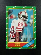1986 Topps #161 Jerry Rice rookie  Hot Rookie Card!!