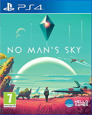NO MAN'S SKY - PS4 - Sci-Fi Abenteurer Game - TOP - (Sony PlayStation 4, 2016)