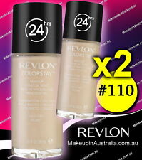 Revlon ColorStay Makeup For Combination Oily Skin Ivory 110 (set of 2)