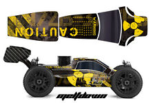 Proline Bulldog MBX6 Buggy AMR RC Graphic Decal Kit 1/8 ECO Mugen Body MELTDOWN