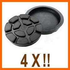 4 X bloc de caoutchouc D. 125 mm. pour Pont elevateur Ravaglioli-Italie -tampons