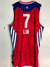 Adidas Swingman NBA Jersey Rockets Jeremy Lin Red All-Star sz XL