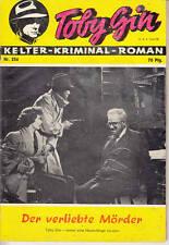 """Resi-KRIMINAL-Roman n. 256 *** condizioni 2-3 *** """"Toby gin"""""""