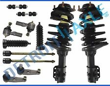Complete 12 pcs Front Suspension Kit with Front Strut Mounts Quick Assembly