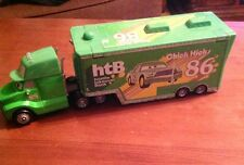Disney Pixar Cars Diecast - HTB Hauler - Loose Chick Hicks Semi Superliner