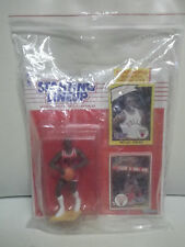 1990 Starting Lineup NBA MICHAEL JORDAN Rookie Year 1984 #8 Card & 1990 #8b Card