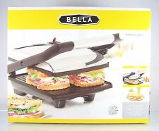 NEW IN BOX!~NIB!~BELLA~PANINI GRILL PRESS~NON-STICK SANDWICH MAKER~1400 W~#13267