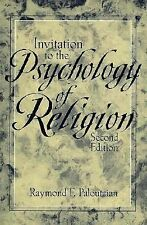 Invitation to the Psychology of Religion (2nd Edition) by Paloutzian, Raymond F