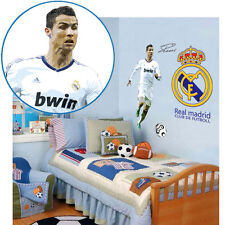 C Ronaldo Real Madrid football passion student living room bedroom wall stickers