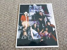 Guns & Roses x4 Slash Duff Matt Dizzy Signed Autograph 8x10 Photo PSA Guarantee