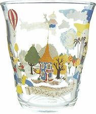 Moomin Valley Glass Tumbler 270cc 540162 From Japan