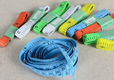 "2PCS Body Measuring Ruler Sewing Cloth Tailor Tape Measure Soft Flat 60""1.5M"