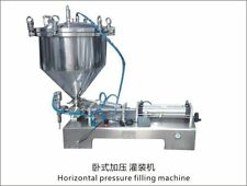 paste  Filling Machine with the  pressure hopper with bigger valve ,28mm nozzle