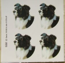 Ceramic decals with Border Collie @Pretty@ DOG