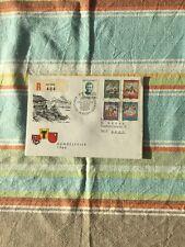 Schweiz, Brief/Beleg Pro Patria FDC 1.8. als R-Brief. Kompl. Serie 1966