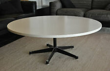 Herman Miller George Nelson 1960er COFFEE TABLE/TAVOLINO ROTONDO BIANCO