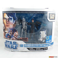 Star Wars Clone Wars 3 pack Commemorative Wal-mart exclusive Set Anakin R2 Clone
