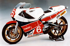 Tamiya 14075 1/12 Scale Model Motorcycle Kit Yamaha YZR500 '83 OW70 T.Taira