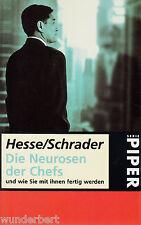 g- Die NÉVROSES der CHEFS DE Hesse /SCHRADER tb (1999)
