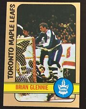 BRIAN GLENNIE SIGNED 1972-73 HOCKEY CARD,Toronto Maple Leafs,Kings,Team Canada