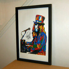 Leon Russell, Vocals, Piano, Guitar, Blues Rock, Folk Rock, 11x17 PRINT w/COA 2