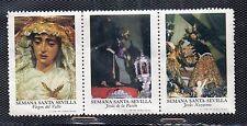 Viñetas con Imagenes de la Semana Santa de Sevilla año 1973 (CV-891)