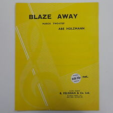 piano BLAZE AWAY abe holzmann