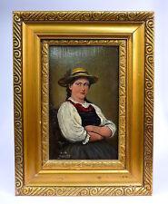 Gemälde datiert 1881 Porträt