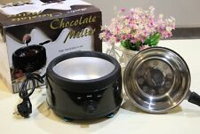 Practical Stainless Steel Chocolate Fondue Fountain Machine Melting Pot Furnace