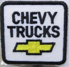 """mint CHEVY TRUCKS 2"""" by 2"""" cloth embroidered patch for hat shirt jacket uniform"""