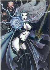 CAST OF CHAOS, THE IN CHROMIUM 1997 KROME CHROMIUM PROMO CARD NO NUMBER