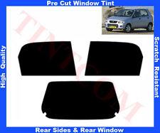 Pellicola Oscurante Vetri Auto Pre-Tagliata Suzuki Alto 5 Potre 02-06 da 5% a50%