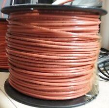 ONE Spool 12 AWG STRANDED THHN THWN Copper 600V ORANGE 500Ft