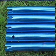 5Pcs Tail Boom 347mm Blue For Trex T-rex 450 SE V2 Helicopter