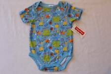 NEW Baby Boys Bodysuit 3 - 6 Mos Animal Sports Creeper Outfit Soccer Basketball