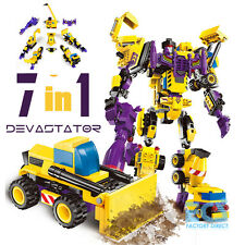 Transformers TFC Devastator G1 Building Block Brick Hot Action Figure Toys