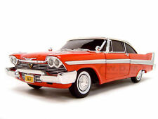 1:18 film modello 1958 Plymouth Fury Christine-con luce frontale-NEW ERTL
