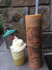 "NEW Disney Parks Disneyland Moana 10 1/2"" Tiki Sipper Mug Cup with Straw"