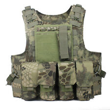 Green Python pattern Soft Bullet proof vest IIIA+2PCS III ceramic plates