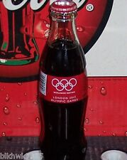 2012 LONDON OLYMPIC'S U. S . VERSION 8 OUNCE GLASS COCA COLA BOTTLE