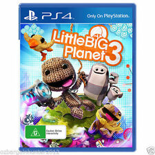 Little Big Planet 3 PS4 Playstation 4 Games New Sealed