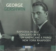 George Gershwin - An American in Paris, Concerto in F, New York Rhapsody ( CD )
