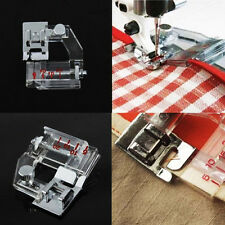 Durable Silver Snap-on Adjustable Bias Binder Presser Foot For Sewing Machines