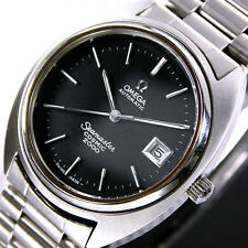 1972 Vintage Omega Seamaster Cosmic 2000 Automatic Black Dial Men's Dress Watch