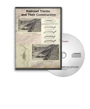 Railroad Tracks and Their Construction - 10 Historic Books on CD - D425