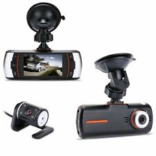 HD 1080P Dual Lens Dashboard 2.7CCTV Car DVR Accident Dash Camera Video Recorder