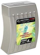 New Blaster Pro Ammo 8mm 2500 Rounds Paintball Splatter Disintegrates on Impact