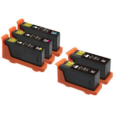 5 Pack 100 XL Black & Color Ink Cartridges for Lexmark Genesis S816 S815 Printer