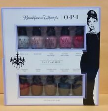 OPI Breakfast AT TIFFANY's 10 pieces Mini Polish  HRH26