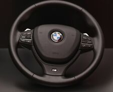 BMW F10 F11 F07 F06 F12 F13 F01 F02 M SPORT LEATHER STEERING WHEEL WITH PADDLES